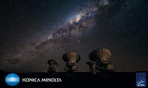 Title:ALMA Client : Konica Minolta Planetarium Year:2014